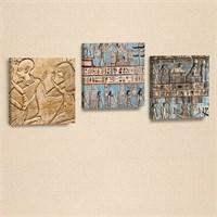 Dekorjinal 3 Lü Kanvas Tablo Seti Ahm002