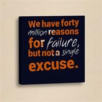 Dekorjinal Slogan Kanvas Tablo Slo050