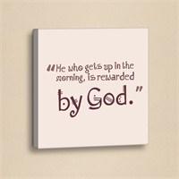 Dekorjinal Slogan Kanvas Tablo Slo069