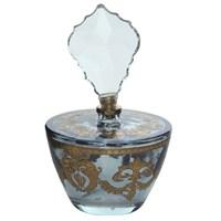 Miss Gaya Parfüm Şişesi El Dekor/Konik Mavi