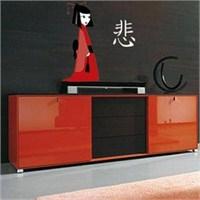 Birka Grafiti - Kırmızı Kimonalı Kız