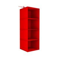 Prado Tela Dolap Düzenleyici Organizer - Kırmızı