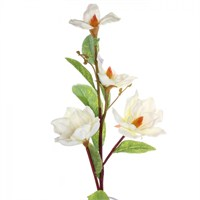 Yedifil Lily Beyaz Yapay Çiçek 1 Alana 1 Bedava