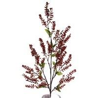 Yedifil Kırmızı Yapay Çiçek 1 Alana 1 Bedava