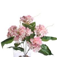 Yedifil Dahlia Dekoratif Çiçek Pembe 1 Alana 1 Bedava
