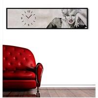 Marilyn Monroe - Çerçeveli Kanvas Saat