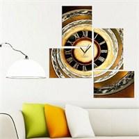 Sistine - 4 Parçalı Kanvas Saat