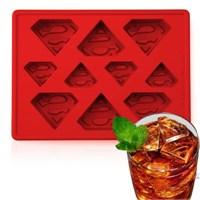 Superman Logo Silicone Mould Kalıp Seti