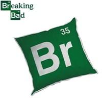 Breaking Bad: Logo Peluş Yastık Brom Elementi