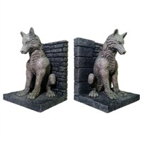 Game Of Thrones Dire Wolf Bookends 2'Li Kitap Tutucu Seti