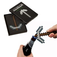 Minecraft Pickaxe Bottle Opener Şişe Açacağı