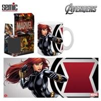 Avengers: Black Widow Ceramic Mug Kupa Bardak