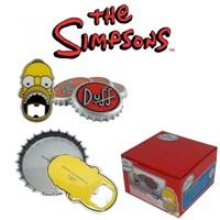 The Simpsons: Bottle Opener And Coaster Açacak Ve Altlık Seti