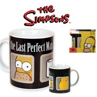 The Simpsons: The Last Perfect Man Mug Kupa Bardak
