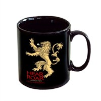 Game Of Thrones Lannister Black Hear Me Roar Mug Bardak