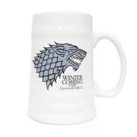 Game Of Thrones Stark Ceramic Stein Bardak