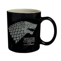 Game Of Thrones Stark Black & White Mug Bardak