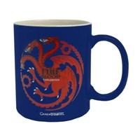 Game Of Thrones Targaryen Blue & White Mug Bardak