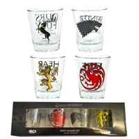 Game Of Thrones Shot Glasses Set Of 4 Mini Bardak Seti