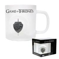 Game Of Thrones 3D Rotating Stark Logo Crystal Mug Bardak