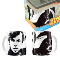 Star Wars: Skywalker White Black Ceramic Mug Bardak
