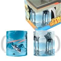 Star Wars: Battle Of Hoth Black Ceramic Mug Bardak