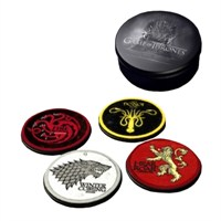 Game Of Thrones Round Coaster Set Yuvarlak Bardak Altlığı