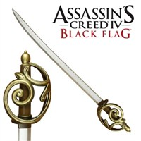 Assassin's Creed Iv: Edward's Cutlass Replica Larp 106 Cm