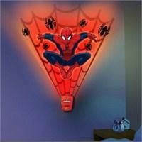 Spider Man Sesli Oda Işığı Ve Duvar Kağıdı Seti