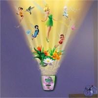 Tinkerbell Sesli Oda Işığı Ve Duvar Kağıdı Seti