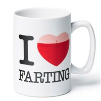 I Love Farting Pırtlayan Kupa Bardak