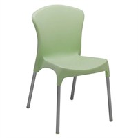 Stella Sandalye Alüminyum Ayak Açık Yeşil