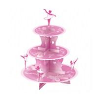 Amscan Balerin Cupcake Standı 1 Adet