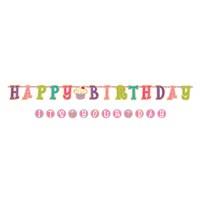 Amscan Tatlı Doğum Günüm Dev Harf Afiş 1 Adet