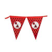 KullanAtMarket Uğur Böceği Partisi Bayrak Afiş 1 Adet
