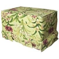 Yastıkminder Koton Tropikal Çiçek Desenli Fıstık Puf