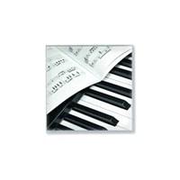 Piyano Ve Notalı Peçete