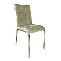 Mavi Mobilya Sandalye Beyaz Suni Deri (4 Adet)
