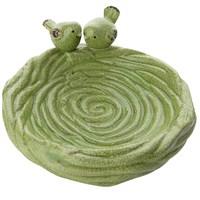 Yeşil Hasır Tabak
