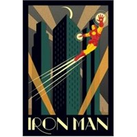 Maxi Poster Marvel Deco Iron Man