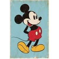 Maxi Poster Mickey Mouse Retro