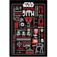Maxi Poster Star Wars Dark Side Icon Graphics