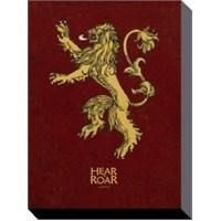 60x80 Kanvas Tablo Game Of Thrones - Lannister