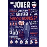 Maxi Poster The Dark Knight Joker Quotographic