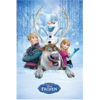 Maxi Poster Frozen Snow Group