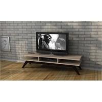 Sanal Mobilya New Retro Tv Sehpası Sonomo - Kahve