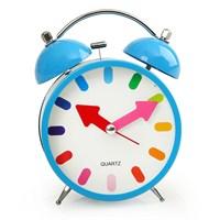 Time Gold Çalar Masa Saati Mavi