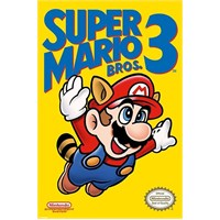 Maxi Poster Super Mario Bros 3 Nes Cover