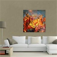 Atlantis Tablo Renklerin Dansı 50X50 Cm