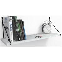 Decormet Armoni Raf ve Kitaplık Seti 1 Raflı 200X720 Beyaz